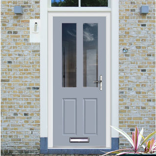 Image: Made to Measure Exterior Straight Top Richmond Door - Fit Your Own Glass