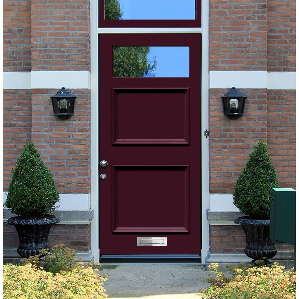 Exterior Victorian Seacole Made to Measure Door - Fit Your Own Glass - 1 Pane