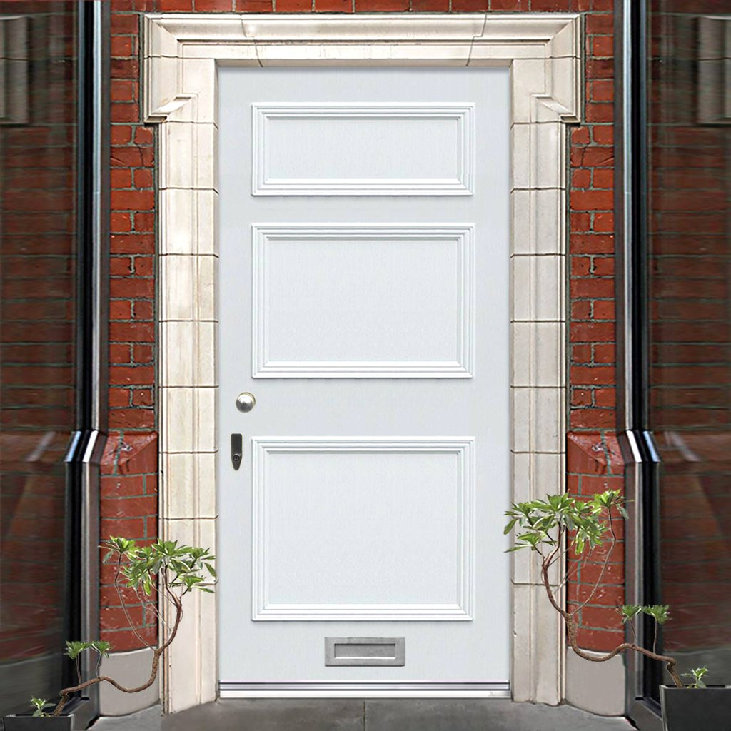Exterior Victorian Seacole 3 Panel Made to Measure Door