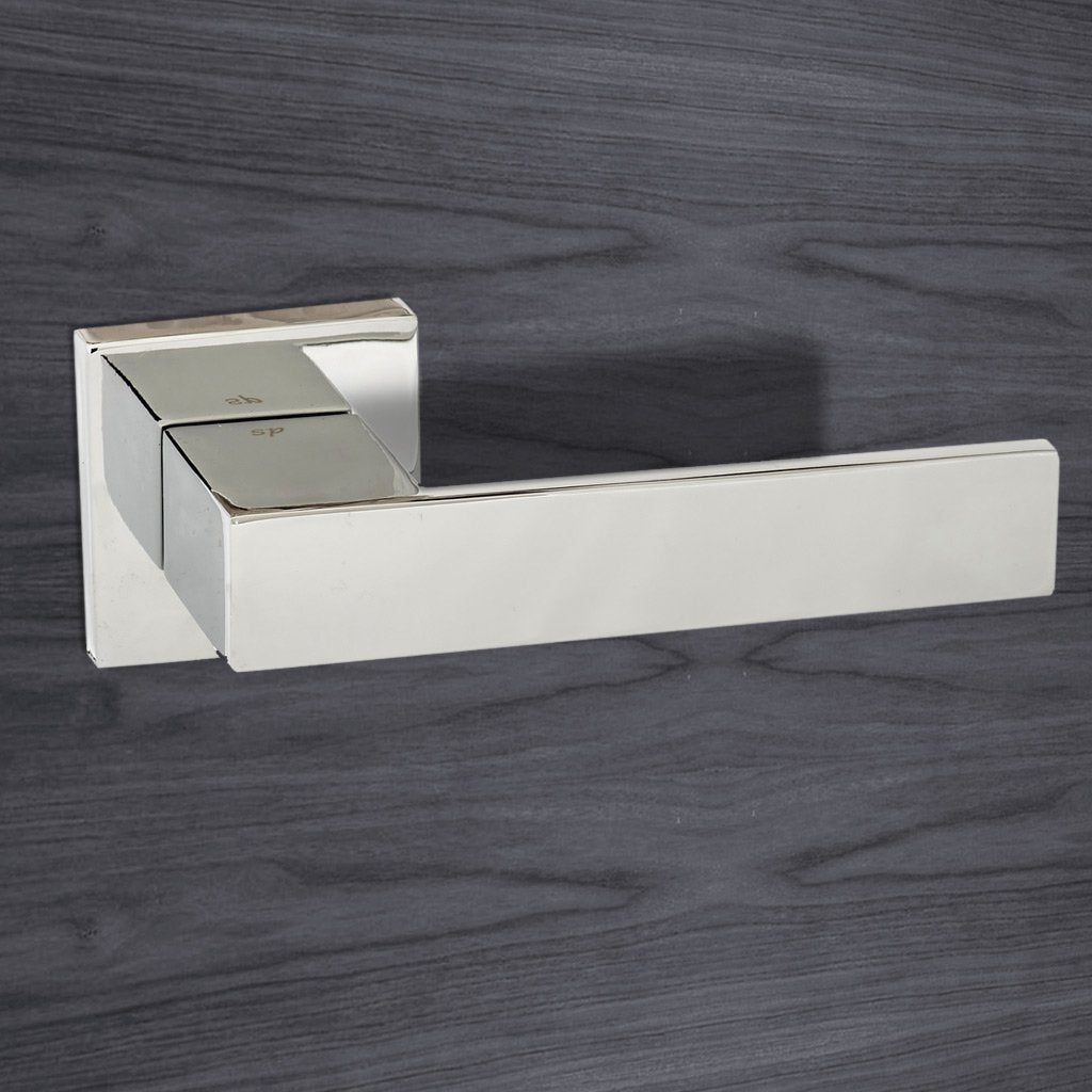Senza Pari Panetti Lever on Flush Rose - Polished Chrome