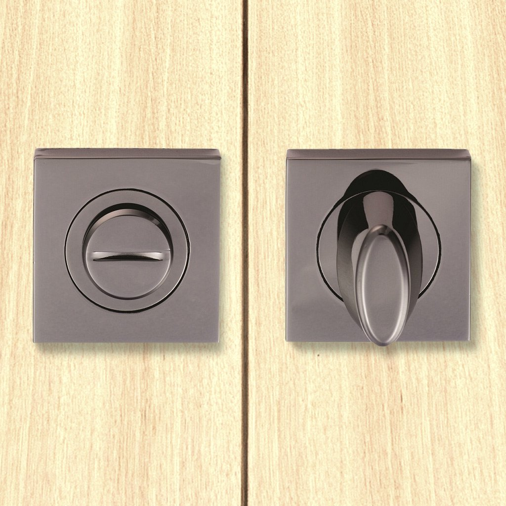 Serozzetta SZM004SQBN Bathroom Thumb Turn & Release