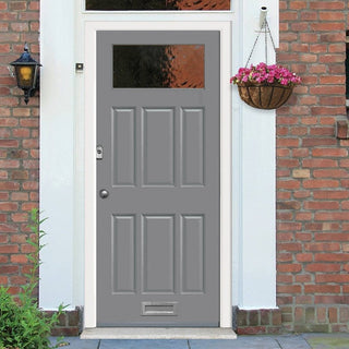 Image: Made to Measure Exterior Iona Style Door - Double Glazing