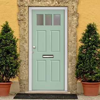 Image: Made to Measure Exterior Bute Door - Double Glazing