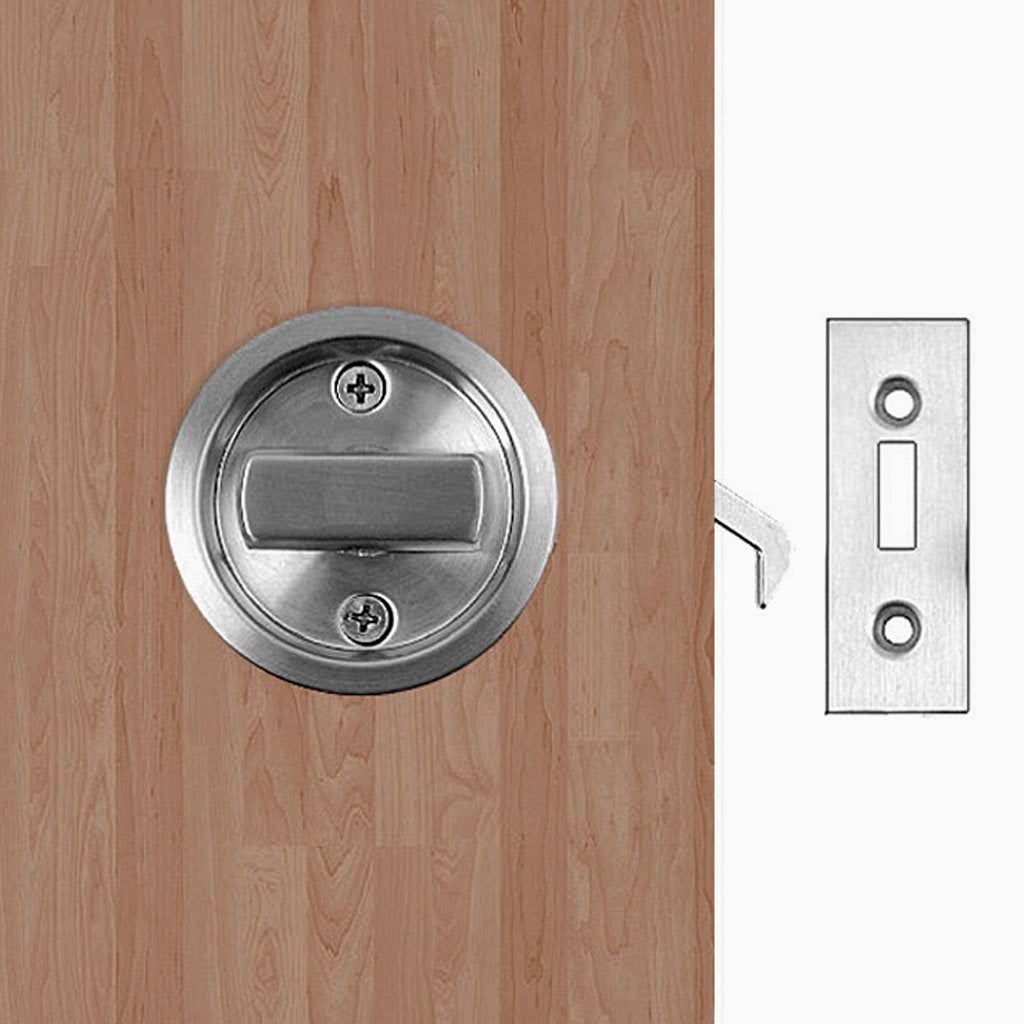SSS Round Sliding Door Bathroom Hook Lock