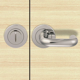 Image: Steelworx SW105 Disability Bathroom Thumb Turn & Release - 2 Finishes