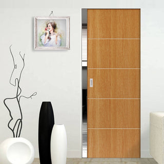 Image: Gallery Tate Absolute Evokit Pocket Door - Prefinished