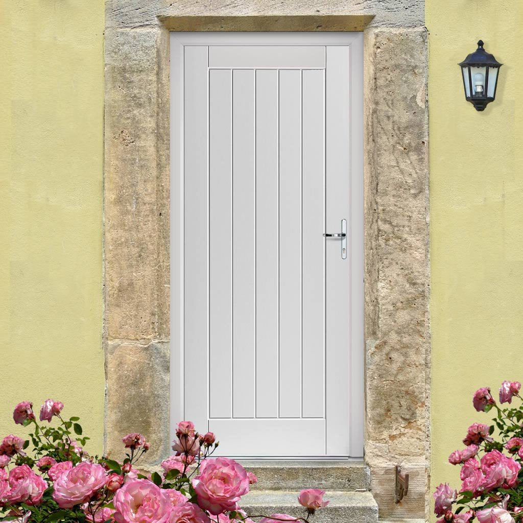 JBK Thames Extreme Weather White Door