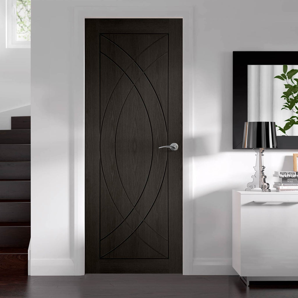 prefinished bespoke treviso oak flush panel door