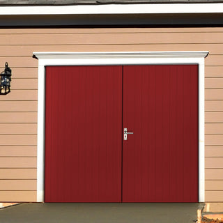 Image: External Bespoke 44mm TriComfort WK3621 Garage Doors