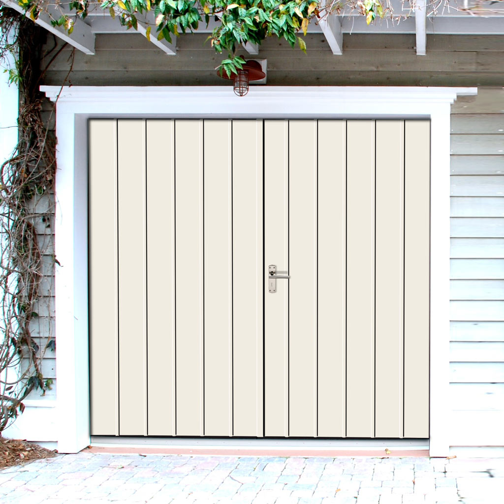 External Bespoke 44mm TriComfort WK3660 Garage Doors