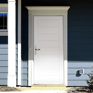 Image: Tricoya White Primed Modena External Composite Door