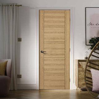 Image: Laminate Vancouver Oak Colour Door - Prefinished