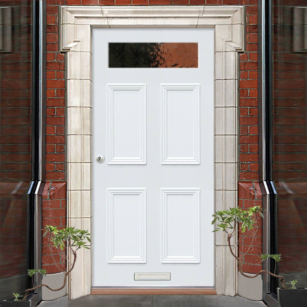 Exterior Victorian Nightingale Made to Measure Door - Fit Your Own Glass - 1 Pane
