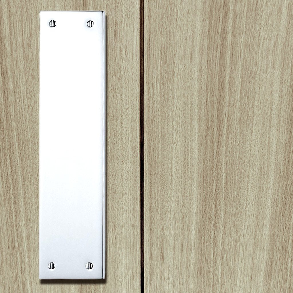 M39 Victorian Finger Plate, 305x70mm - 3 Finishes