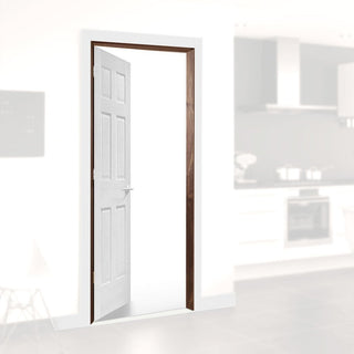 Image: Prefinished Door Lining Set in Walnut