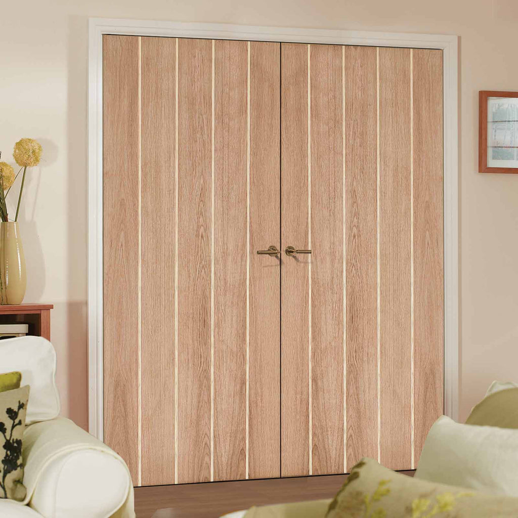 Wexford Oak Door Pair