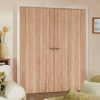 Image: Wexford Oak Door Pair