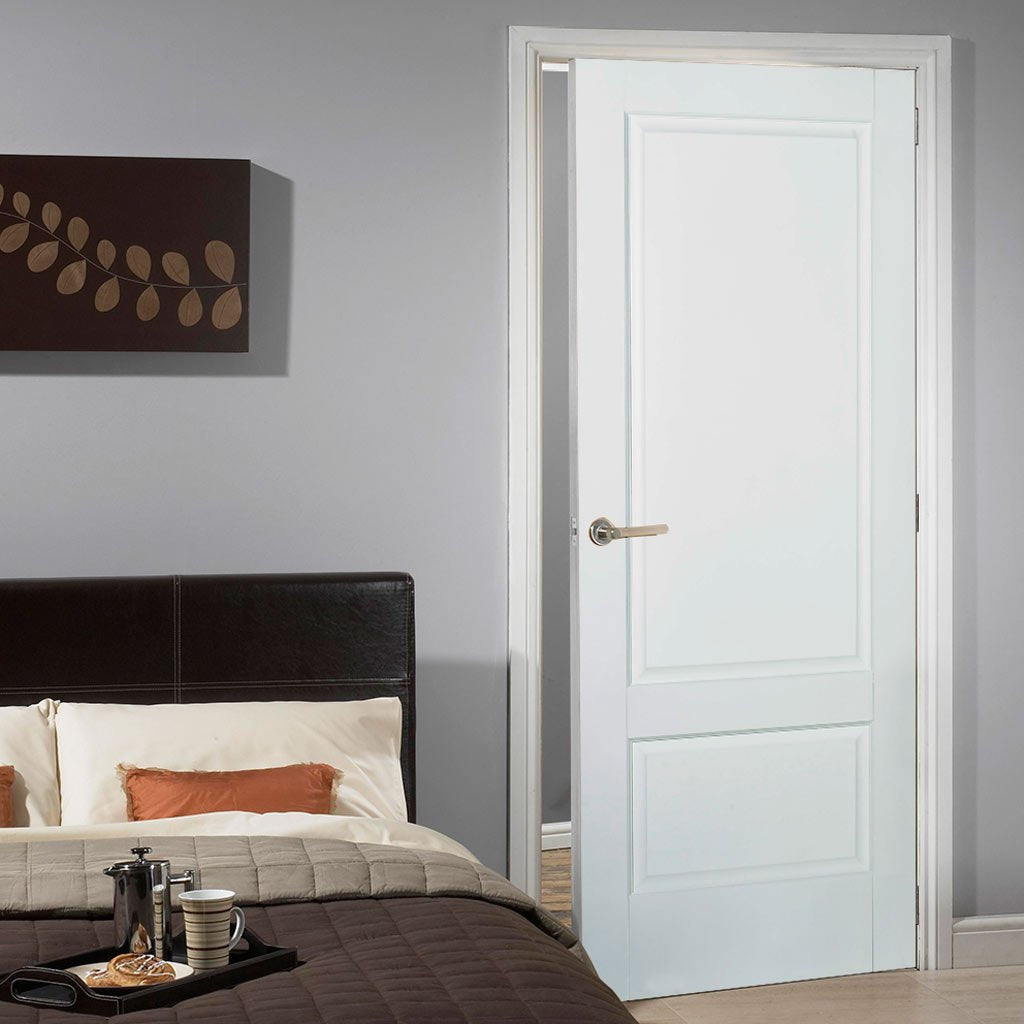 Brooklyn 2 Panel DSN Door - White Primed