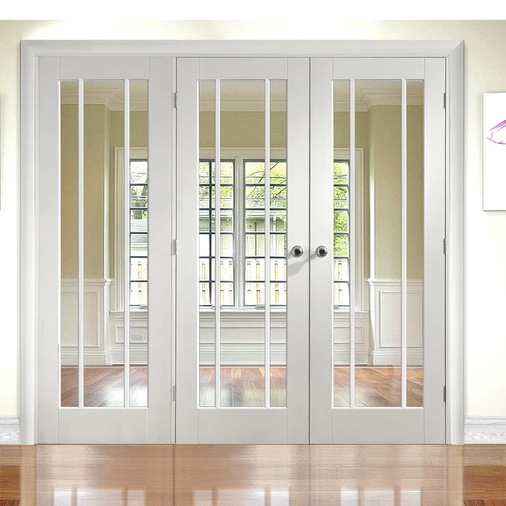 Easi-Frame White Door Set - GWPWOR-COEOP17L - 2005mm Height - 2270mm Wide.