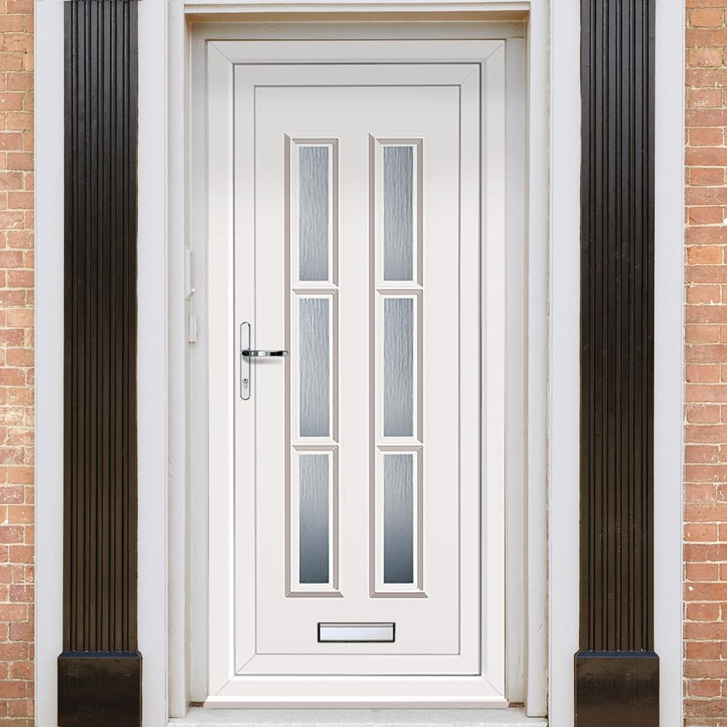 Exterior Lyon Six Upvc Door