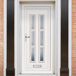 Image: Exterior Lyon Six Upvc Door