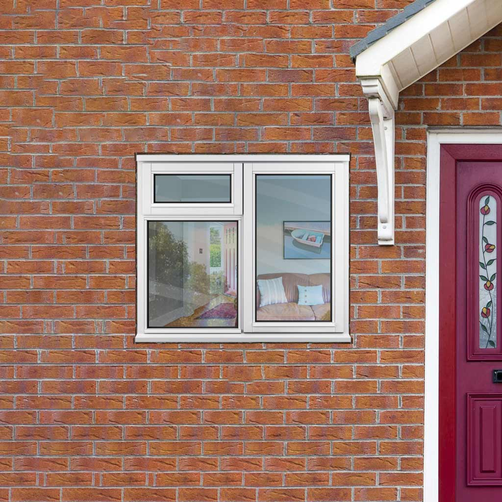 Stormsure Casement Timber Window with vents - Right Hinge - 1195x1045 High SFLEW210CV-O