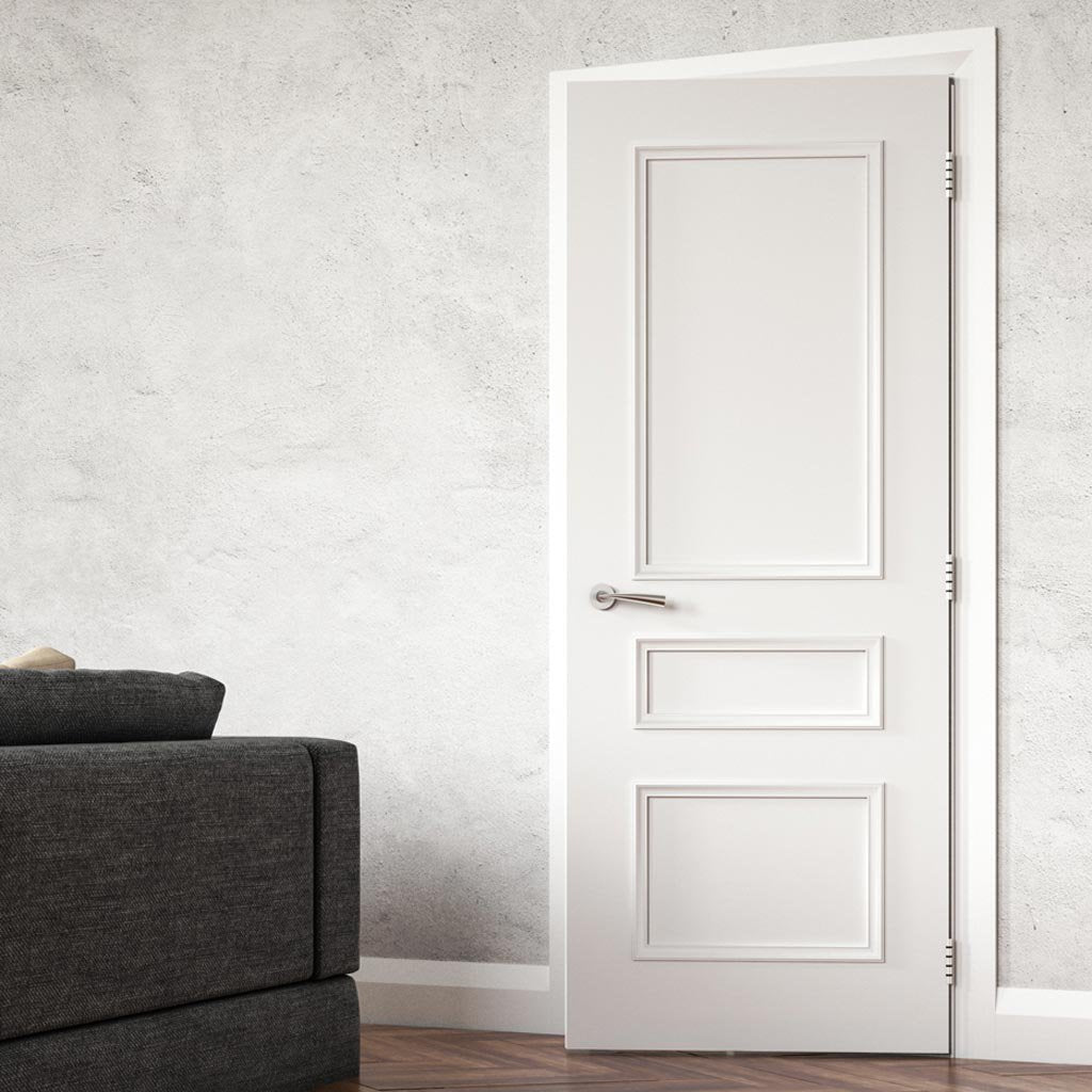 Windsor White Primed Door - 1/2 Hour Fire Rated