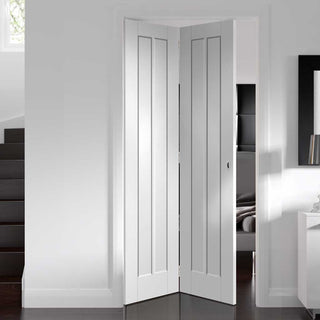 Image: Worcester Bi- Fold Door - White Primed