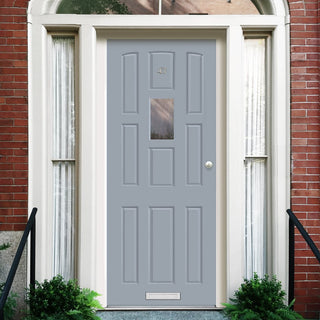 Image: Made to Measure Exterior York Style Door with Double Glazing