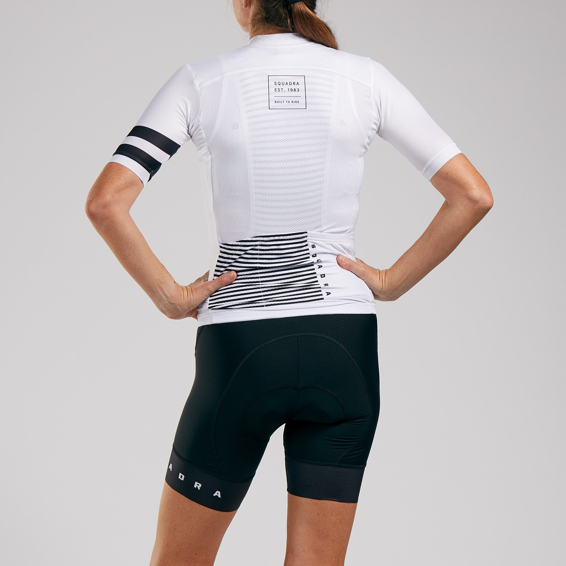WOMENS PRO ISSUE S/S AERO JERSEY - BLANCO