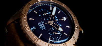 MALM introduces the Catalina Blue Aeronautical Chronograph 41
