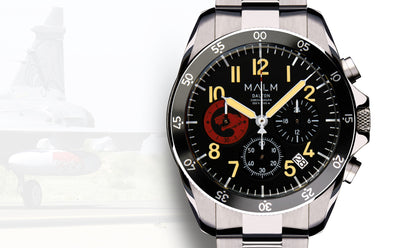 MALM introduces an exclusive Dalton watch for Hungarian fighter pilots