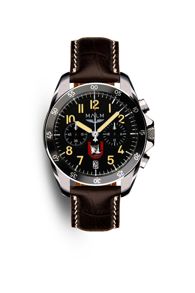 MALM develops WOLF - a limited watch for 211th fighter squadron in the Swedish Air Force