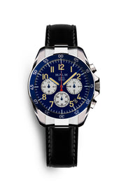 Dalton Blue White Panda Chronograph 41 - malmwatches.com