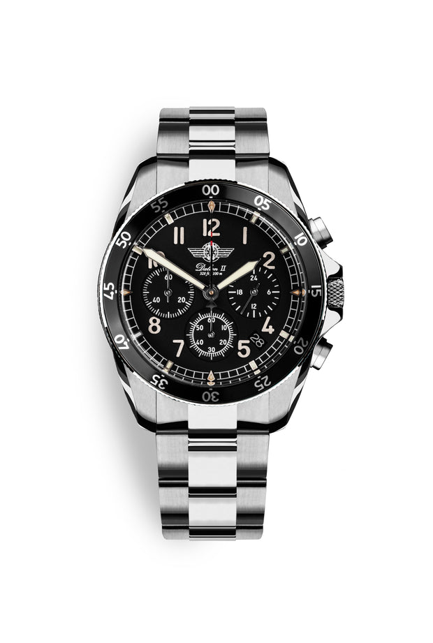 DALTON 2 Black Chronograph 41 Limited Edition