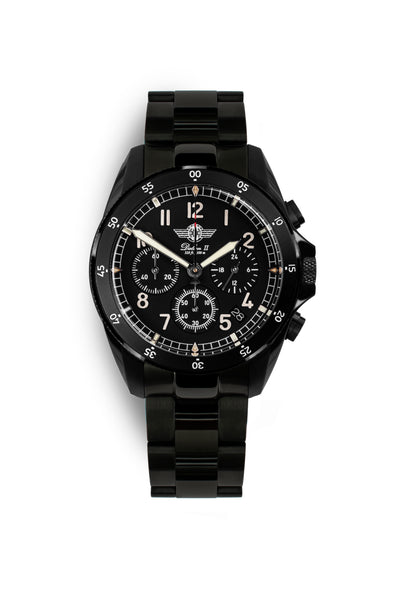 DALTON 2 Black DLC Chronograph 41 Limited Edition