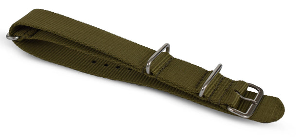NYHET! Green Nato Pilot Strap - MALM watches