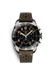 DALTON Black Chronograph 41