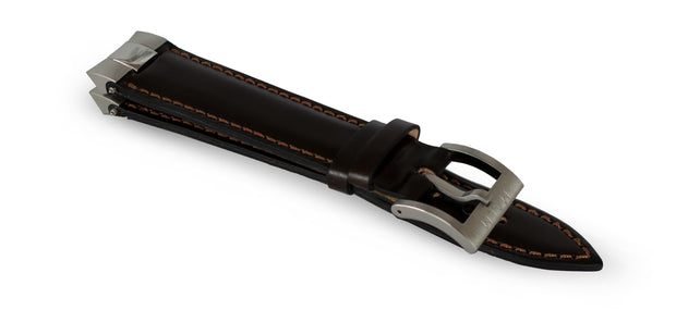 Nyhet! Brown Officer Leather Strap - malmwatches.com