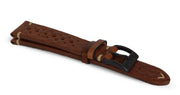 Brown Pilot Race Strap - malmwatches.com