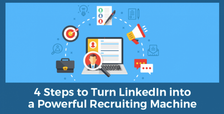 4 Steps to Turn LinkedIn into Your Personal Sales & Recruiting Machine