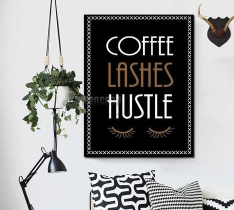 Coffee and Mascara - 2 things MOST women can agree on.