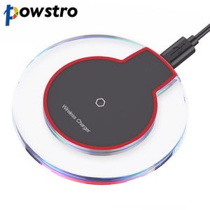 Ultra Slim QI Wireless Fast Charger