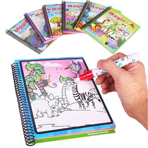 Montessori Coloring Book Doodle & Magic Pen