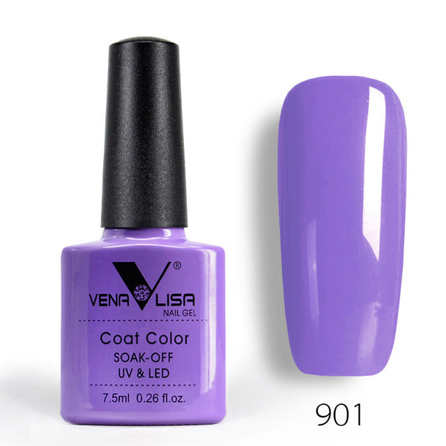 Art Design Manicure 60Color Nail Polish Lacquer Varnish