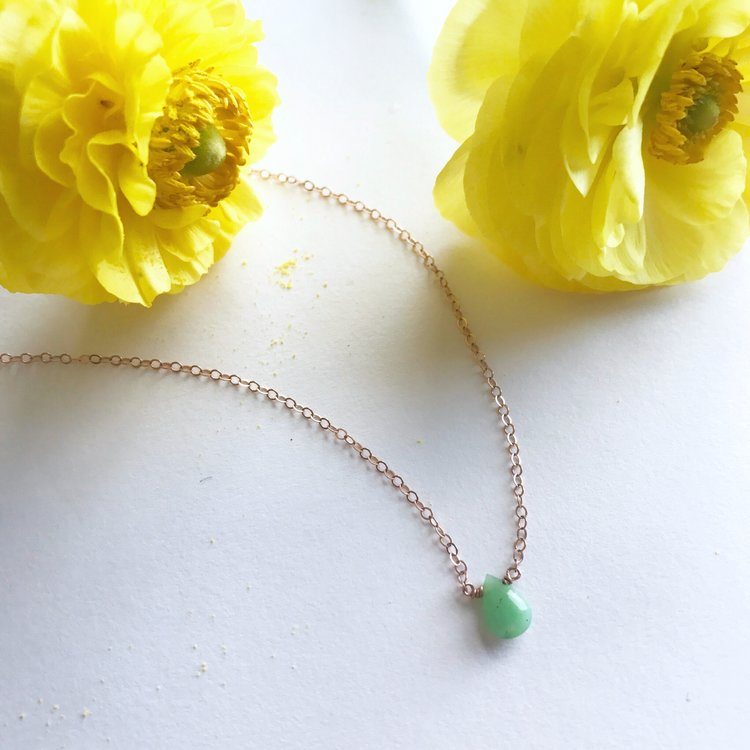 Awakening, The Divine Whole in Chrysoprase