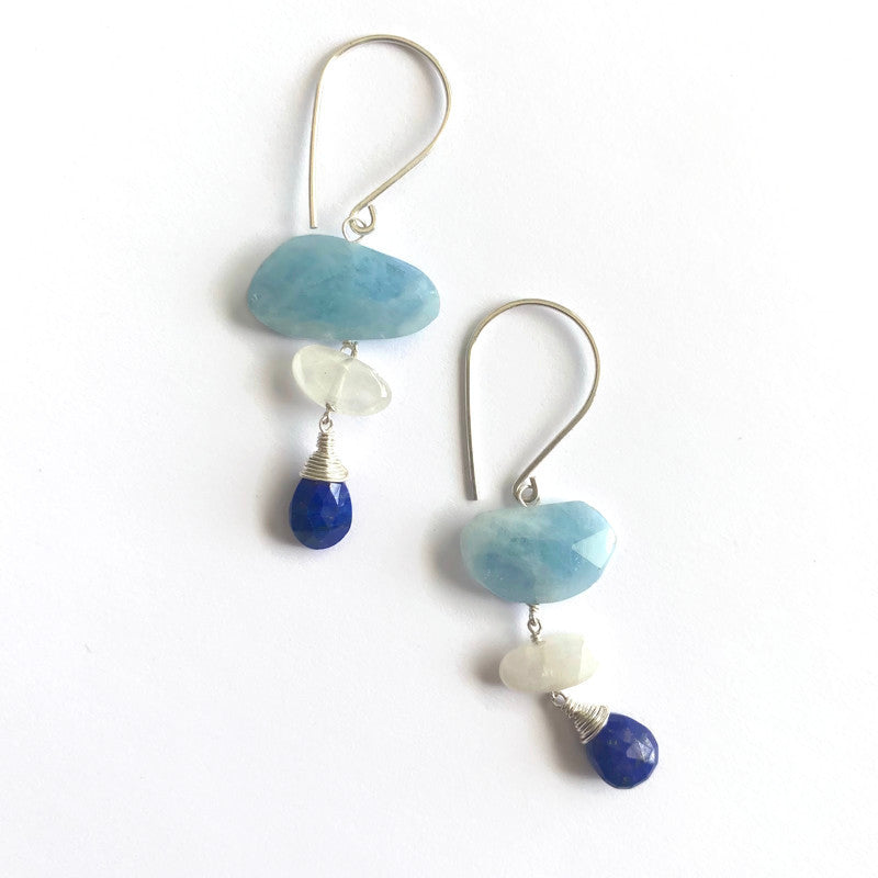 Tiny Cairn earrings