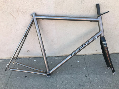 Bill Holland Titanium Road Frame Reynolds Fork 59cm 59cm