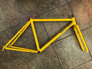 "Team Fat Chance Yo Eddy Steel Mountain Bike Frameset MTB 17"" Medium Rigid MIUSA"