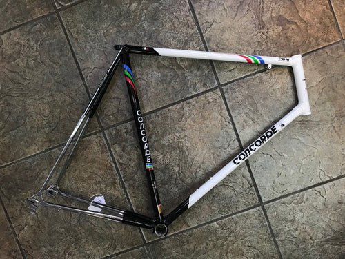 Concorde PDM World Cup Team Frame 1988 Columbus SLX Steel 62cm 59cm